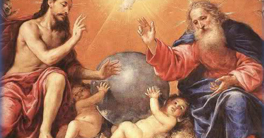Bog je zajednica ljubavi Oca, Sina i Duha Svetoga koji nas prima u svoju zajednicu!