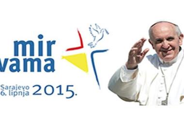 VIDEO: Stopama mira – Himna susreta mladih s papom Franjom u Sarajevu