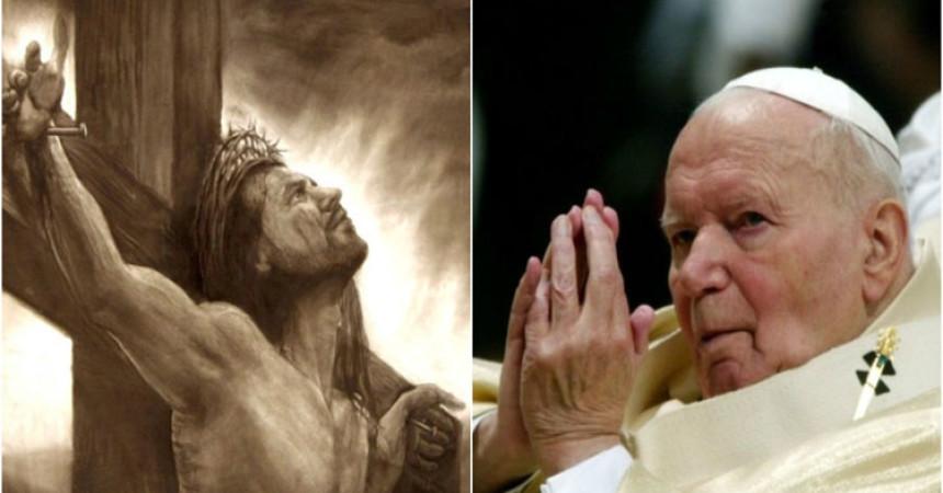 Ivan Pavao II: Milosnoj ljubavi razapetog Krista