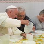 Papa se u Firenci susreo s bolesnicima i ručao sa siromasima