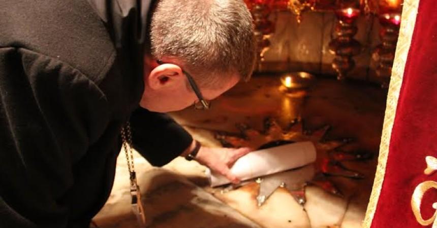 Tvoje ime na Badnjak može biti položeno u Betlehemu
