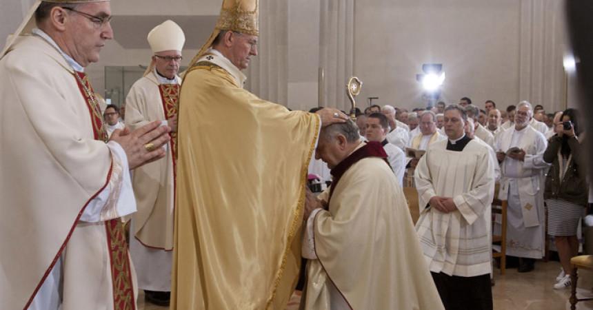 Zaređen novi vojni biskup mons. Jure Bogdan