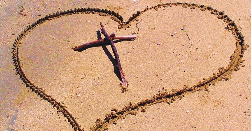 Prije sam vjerovala da je srce simbol ljubavi, sada shvaćam da je drvo križa mjesto ljubavi