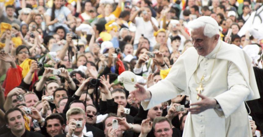 Deset savjeta Benedikta XVI. mladima