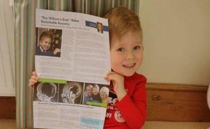 Dječak Noah imao je samo 2% mozga, a danas je medicinsko čudo!