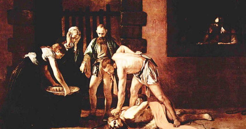 Mučeništvo sv. Ivana Krstitelja