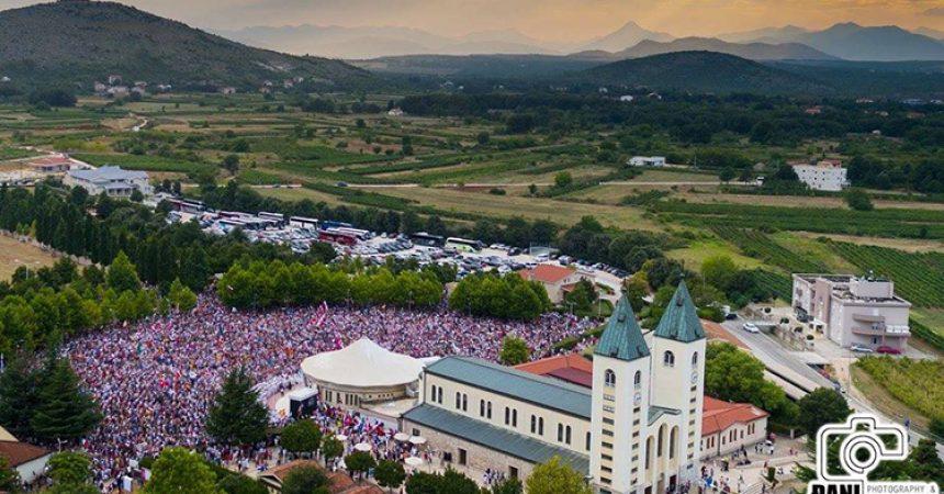 Više desetaka tisuća mladih iz 72 zemlje svijeta na Mladifestu u Međugorju!
