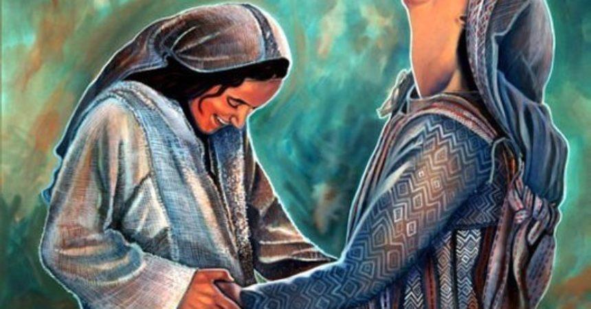 U susretu Marije i Elizabete zrcali se ljubav dviju žena koje će svojim porodima razveseliti svijet