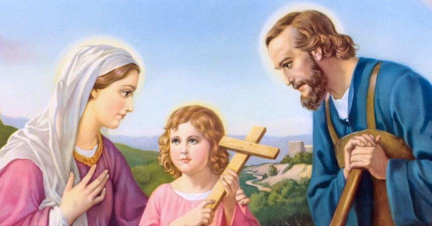 Sveta Obitelji, pod tvoju zaštitu stavljamo sve naše obitelji da ih braniš i štitiš od svakog zla!